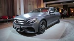Detroit Auto Show 2016 Mercedes Benz E Class