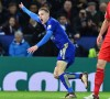 Vardy Scores Twice As Leicester Down Liverpool