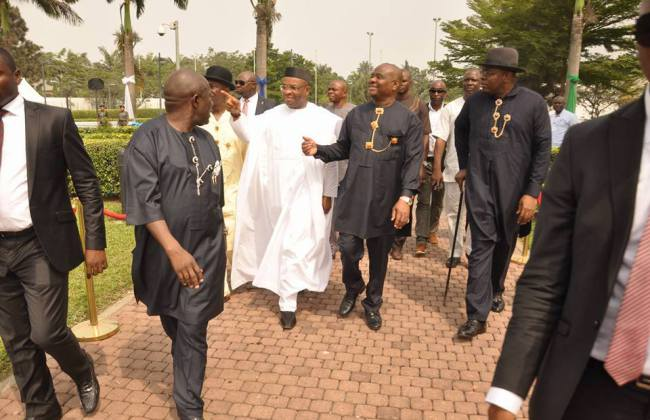 Patience-Jonathan-Ben-Bruce-Peter-Odili-Govs-of-Akwa-Ibom-and-Bayelsa-attend-Nyesom-Wike-thanksgiving-service-Photos-4